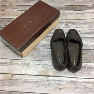 Antonio Melani Brown Empire Loafers